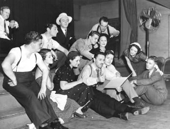 blitzstein and cradle cast 1937